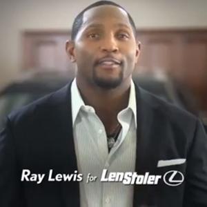 Len Stoler Ray Lewis TV